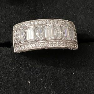 Sterling Silver Wedding Band 925 Ring